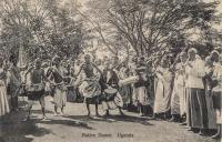 Native Dance. Uganda