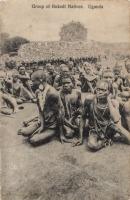 Group of Bukedi Natives. Uganda