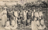 Mission Girls C.M.S. Uganda