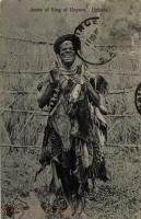 Jester of King of Unyoro. Uganda
