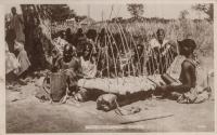 Native xylophone, Uganda