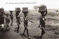 En route pour le marché (Afrique centrale)