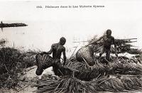 Pêcheurs dans le Lac Victoria Nyanza