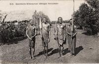 Guerriers Kikouyous (Afrique Orientale)