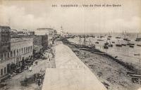 Zanzibar - Vue du port et des quais