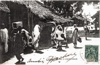 Une rue à Zanzibar