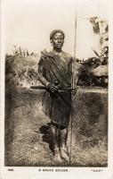 A Kikuyu soldier