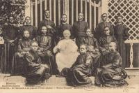 UGANDA - Bishop Streicher and his first native priests
