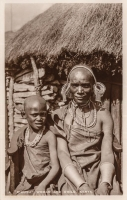 "A ""Kikuyu"" woman and child. Kenya"