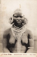 A Native Bride BRITISH EAST AFRICA
