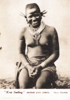 """Keep Smiling"" BRITISH EAST AFRICA"