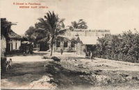 A Street in Mombasa BRITISH EAST AFRICA