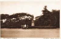 The Public Gardens - Mombasa - Kenya colony
