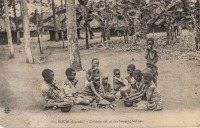 KISUBI (Uganda) Children sick of the Sleeping-sickness