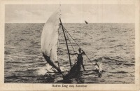 Native Dug out, Zanzibar