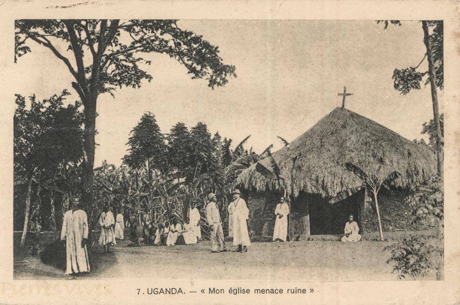 "UGANDA - ""Mon Eglise menace ruine"""