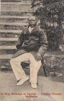 Ex King Kabarega of Uganda - Political Prisoner. Seychelles