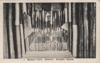 Mutesa's Tomb (interior). Kampala, Uganda