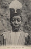 Daudi, Kabaka of Uganda. 1909