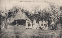 Afrique équatoriale - Une famille chrétienne à l'Ouganda