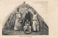 Native hut in Uganda