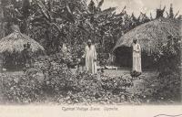 Typical Village Scene. Uganda