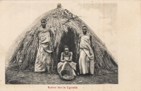 Native hut in Uganda