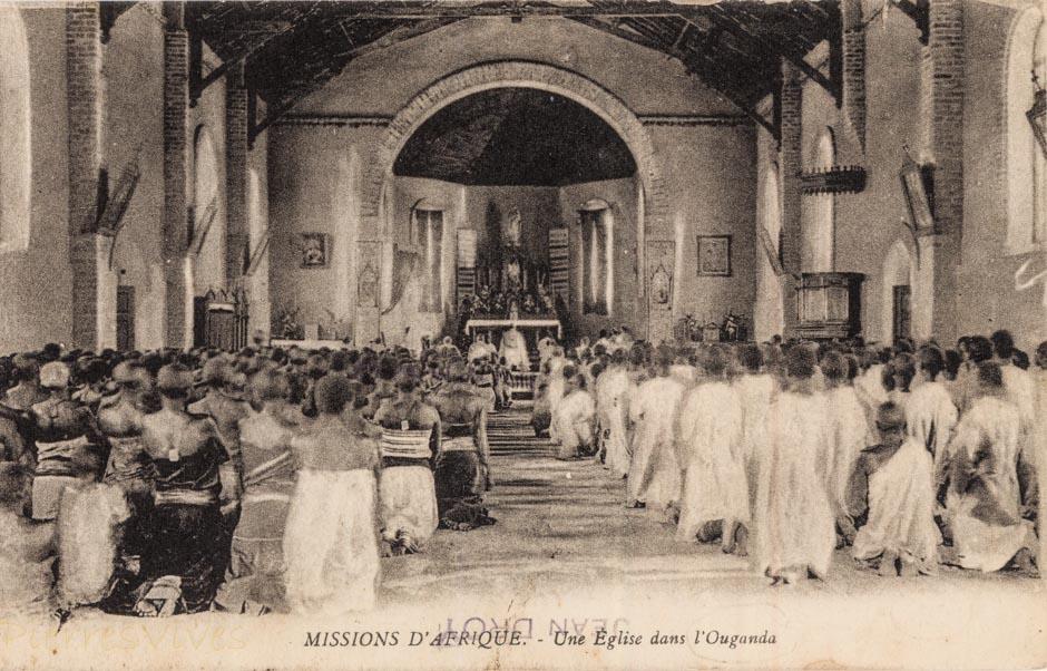 Afrique Equatoriale - Une Eglise à l'Ouganda