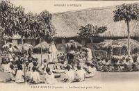 VILLA MARYA (Uganda) - La classe aux petits Nègres