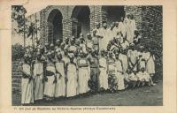Un jour de baptème au Victoria-Nyanza (Afrique Equatoriale)