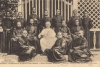 UGANDA - Bishop Streicher and his first native priests
