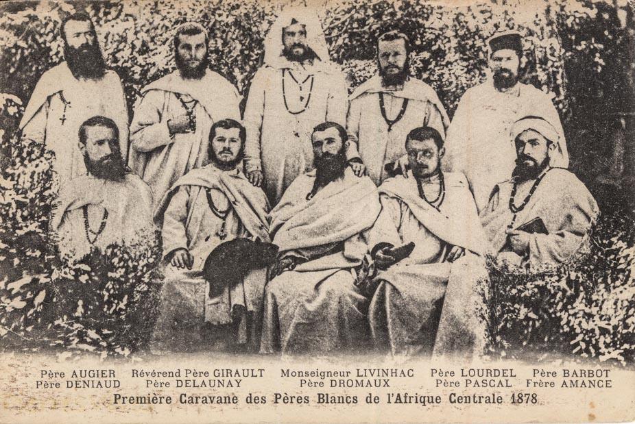 Première Caravane des Pères Blancs de l'Afrique Centrale 1878