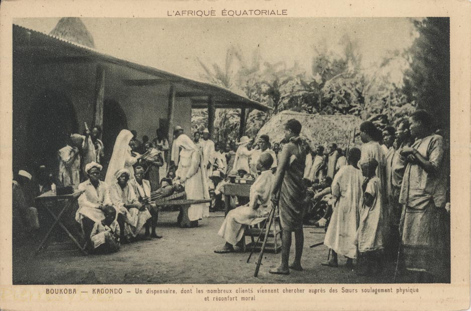BOUKOBA - KAGONDO - Un dispensaire dont les nombreux clients viennent chercher auprès des Sœurs soulagement physique et réconfort moral