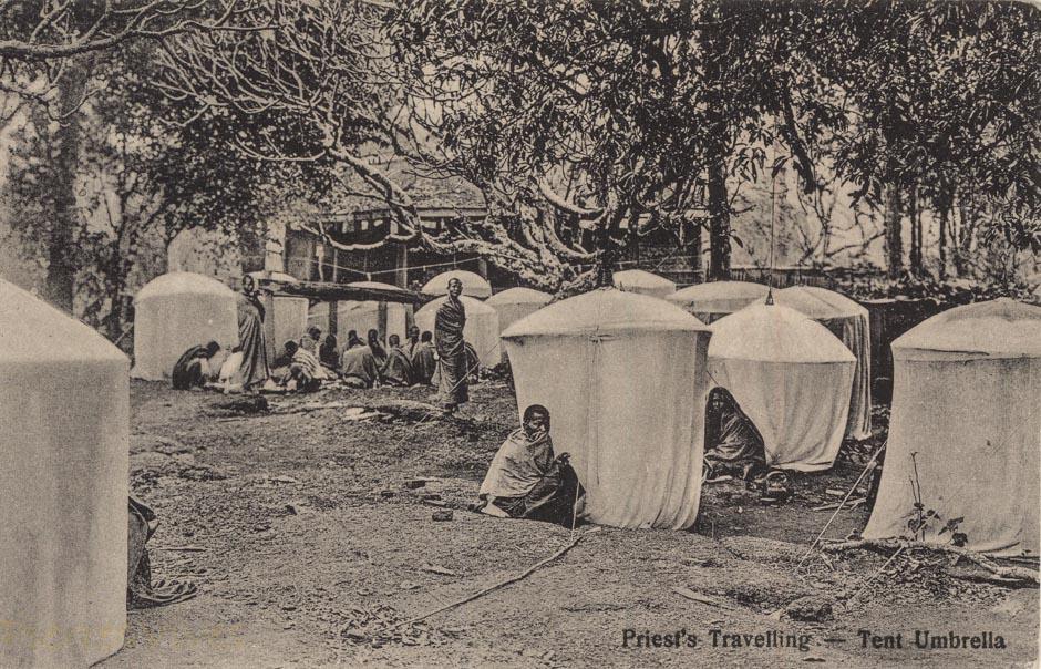 Priest's Travelling - Tent umbrella
