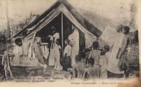Messe sous la tente
