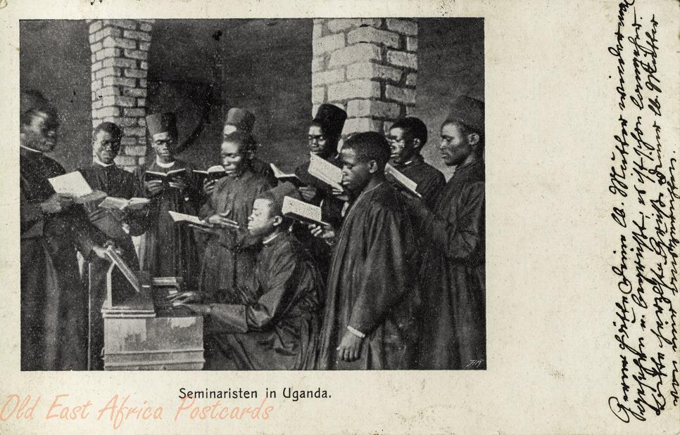 Seminaristen in Uganda