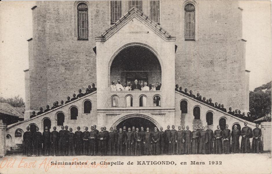 Séminaristes et chapelle de KATIGONDO