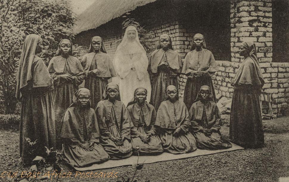 Eerste zwarte Zusters in Uganda