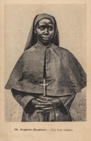 Ouganda (Equateur) - Une Sœur indigène