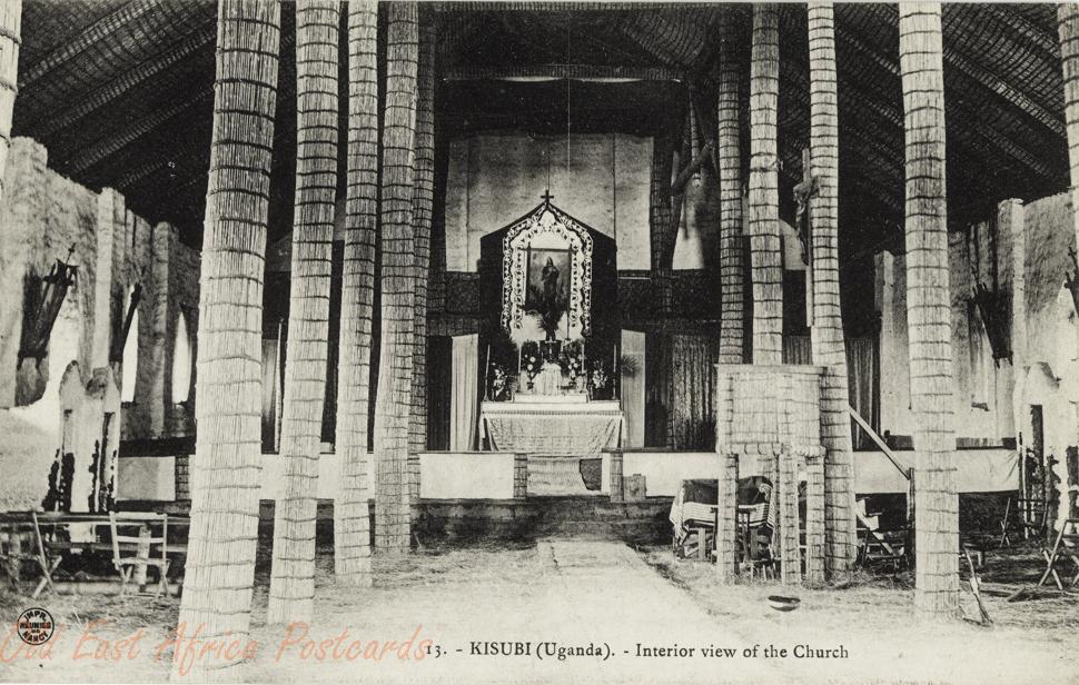 KISUBI (Uganda) Interior view of the church