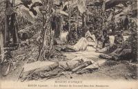 KISUBI (Uganda) Les malades du sommeil dans leur Bananeraie