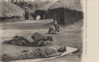 KISUBI (Uganda) Victims of the Sleeping-sickness in the point of dying
