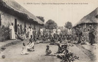 KISUBI (Uganda) Patients of the Sleeping-sickness on the first phasis of the disease