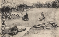 KISUBI (Uganda) Sick people of the Sleeping-sickness