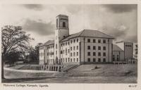 Makerere College. Kampala, Uganda