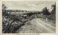 Kampala, View from Main Road, Uganda