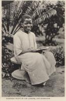 Buganda Youth at his lessons, Dar-Es-Salaam