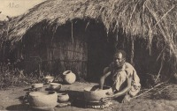 Uganda - Native potter at work