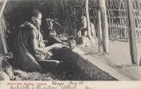 Bark Cloth Beating, Uganda