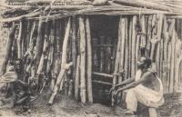 A Leopard trap, Busoga, Uganda Protectorate